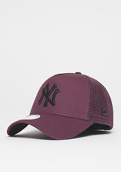 New Era Trucker MLB New York Yankees maroon/black