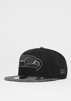 New Era 59Fifty NFL Seattle Seahawks black/graphite