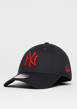 New Era 39Thirty MLB New York Yankees navy/hot red