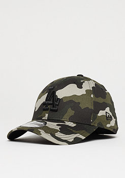 New Era 39Thirty MLB Los Angeles Dodgers woodland camo/black