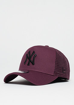 New Era 9 Forty A-Frame MLB New York Yankees maroon/black