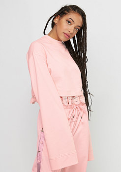 Fenty by Rihanna Cropped Long Sleeve crystal rose
