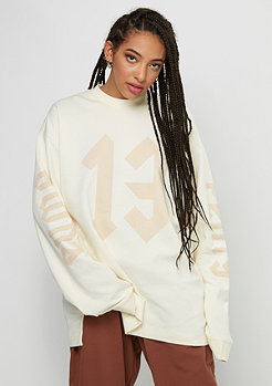Fenty by Rihanna Long Sleeve Graphic Crew Neck vanilla ice