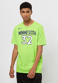 NIKE T-Shirt NBA Minnesota Timberwolves Towns