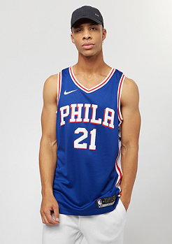 NIKE NBA Philadelphia 76ers rush blue/white/university red