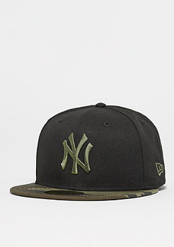 New Era 59Fifty MLB New York Yankees woodland green/rifle green