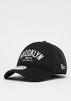 New Era A-Frame Trucker NBA Brooklyn Nets black/o.white