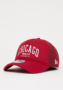 New Era A-Frame Trucker NBA Chicago Bulls scarlet/o.white