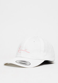Karl Kani Baseball-Cap Curved white/rose