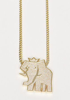 Kette Snoop Dogg Jungl Julz Logo gold