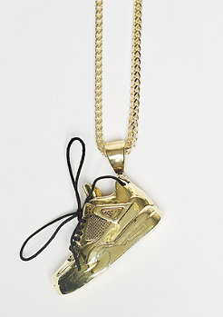 Kette Air Sneaker gold