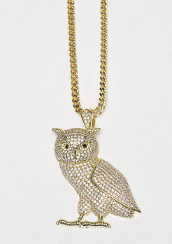 Kette The Owl gold