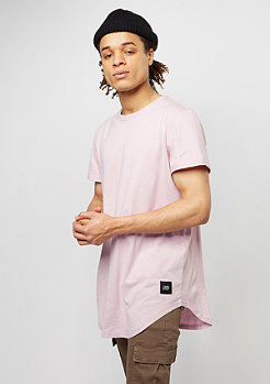 T-Shirt Rounded Bottom stone pink
