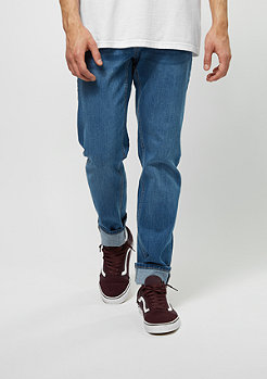 Jeans-Hose Stretch Denim blue washed