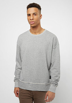 Oversize Sweatshirt Dropped Shoulders light grey