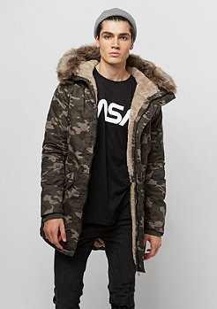Sixth June Parka Fur camo/beige