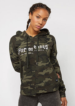 Sixth June Hoodie Fire green camo