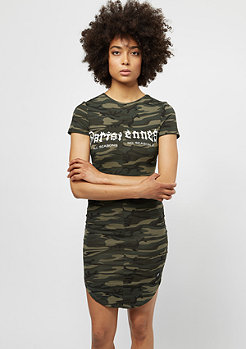 Tight Dress green camo