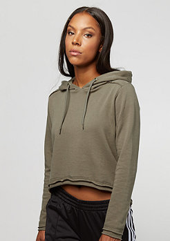 Urban Classics Cropped Terry Hoddy army green
