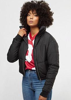 Urban Classics Oversized High Neck Jacket black