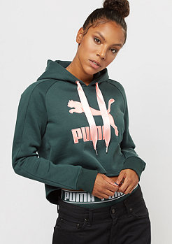 Puma Cropped Hoody green gables