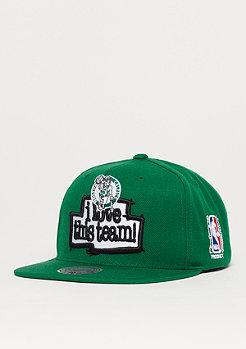 Mitchell & Ness I Love This Team NBA Boston Celtics green