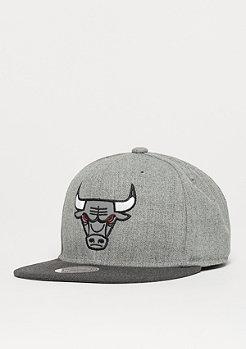 Mitchell & Ness Heather Reflective NBA Chicago Bulls grey/charcoal