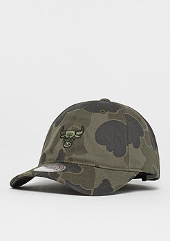 Mitchell & Ness Camo Slouch NBA Chicago Bulls green camo