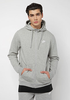 NIKE Sportswear Hoodie darkgrey heather/dark grey heather