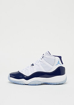 JORDAN Air Jordan 11 Retro (GS) white/university blue-midnight navy