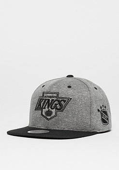 Mitchell & Ness Snapback-Cap Broad NHL Los Angeles Kings grey/black
