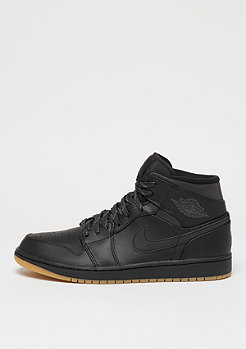 JORDAN Air Jordan 1 Mid Winterized black/anthracite/gum yellow