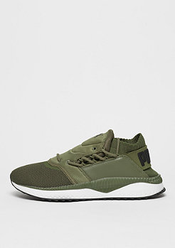 Schuh TSUGI Shinsei olive night/puma white