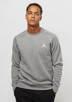 Jordan Flight Fleece carbon heather/white