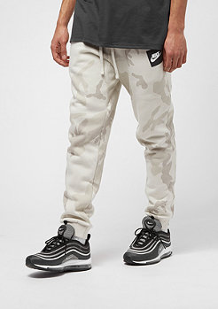 NIKE Jogger CF AOP FLC Club light bone