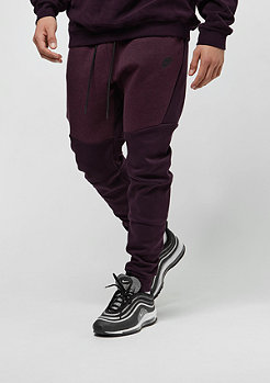 NIKE Tech Fleece port wine/heather/port wine