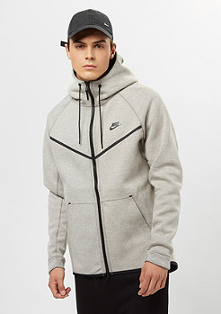 NIKE Tech Fleece WR FZ light bone/black