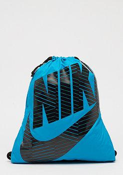 NIKE Heritage Gym Sack lt blue lacquer/black/black