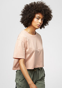 Short Oversized Tee light rose