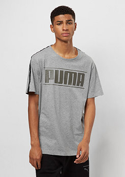 Puma Rebel Tape Logo medium gray heather