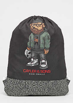 Cayler & Sons WL Siggi Sports Gymbag black/mc