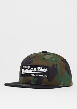 Mitchell & Ness Box Logo wood camo/black