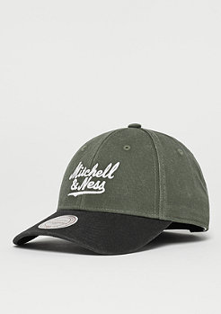 Mitchell & Ness 2 Tone Wordmark olive/black
