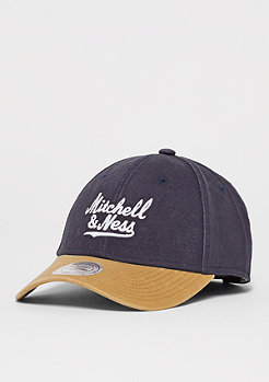 Mitchell & Ness 2 Tone Wordmark navy/tan