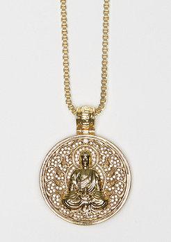 Buddhist Medallion gold