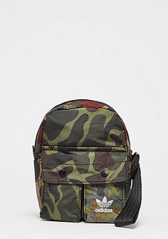 adidas Mini Backpack camo green