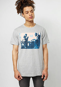Wu-Wear T-Shirt Chess heather grey