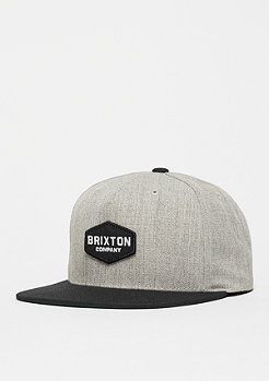 Brixton Obtuse light heather grey/black