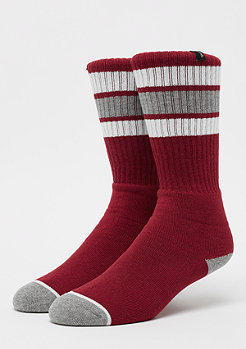 Brixton Alameda dark red/heather grey