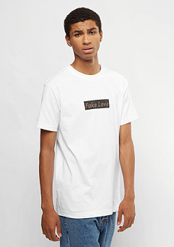 T-Shirt Fake Love white